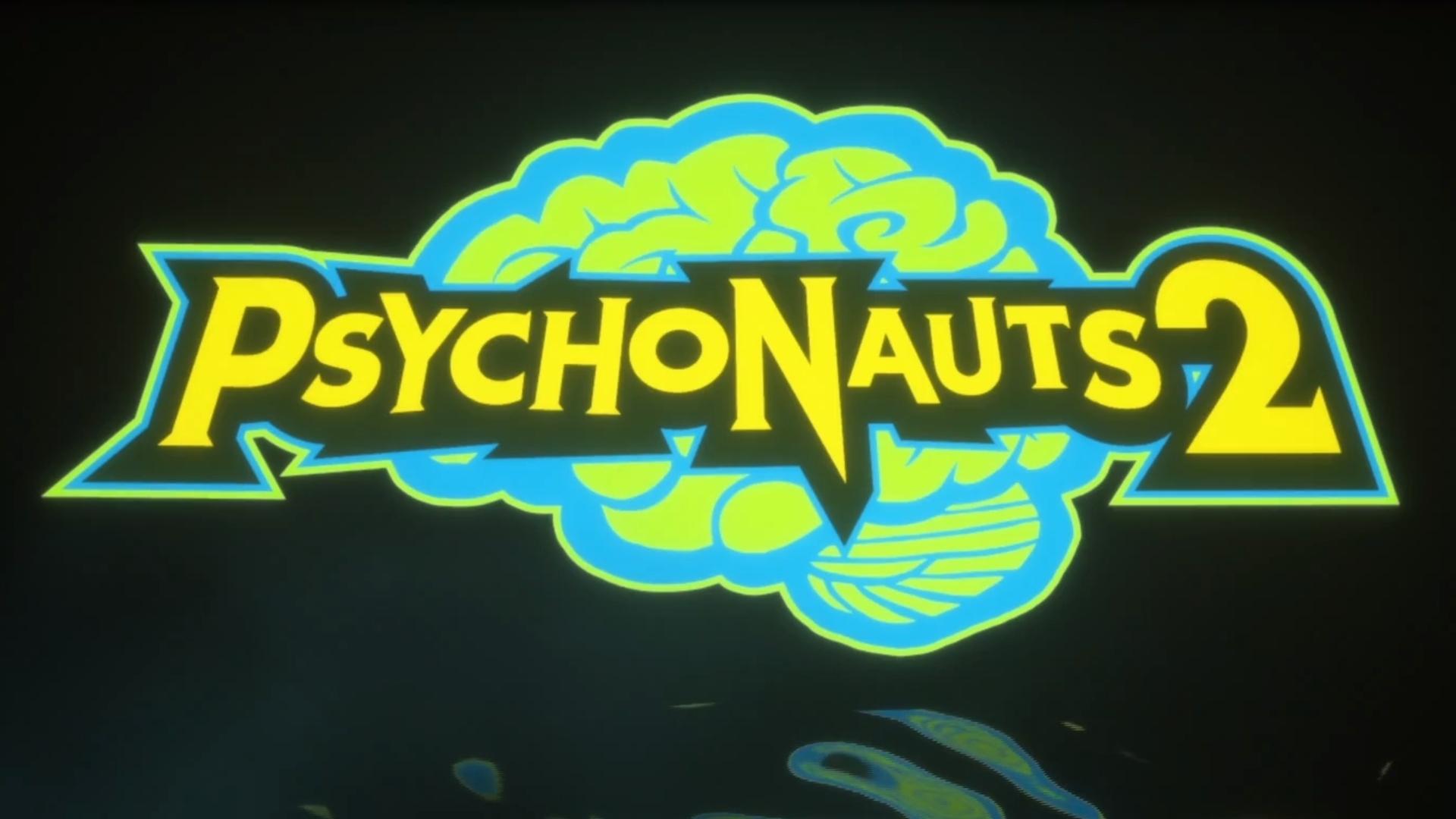 Psychonauts 2; screenshot: logo