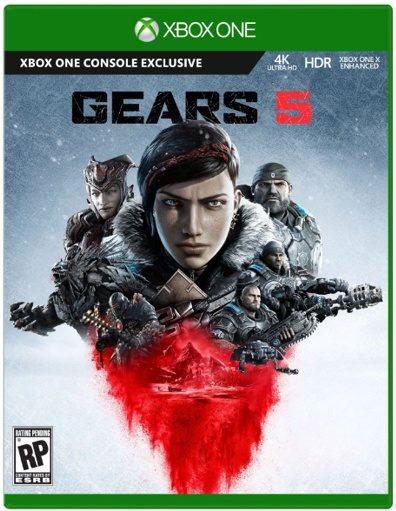 Gears 5, box cover, gears 5