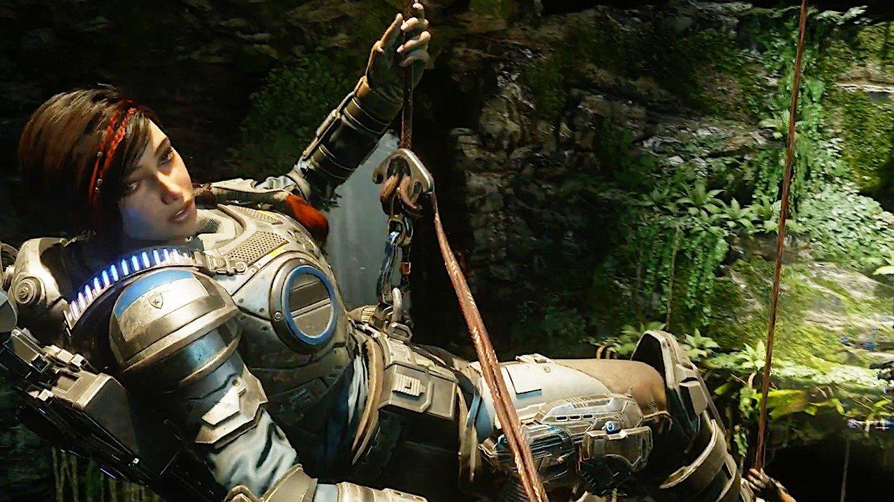 Gears 5, screenshot, kait