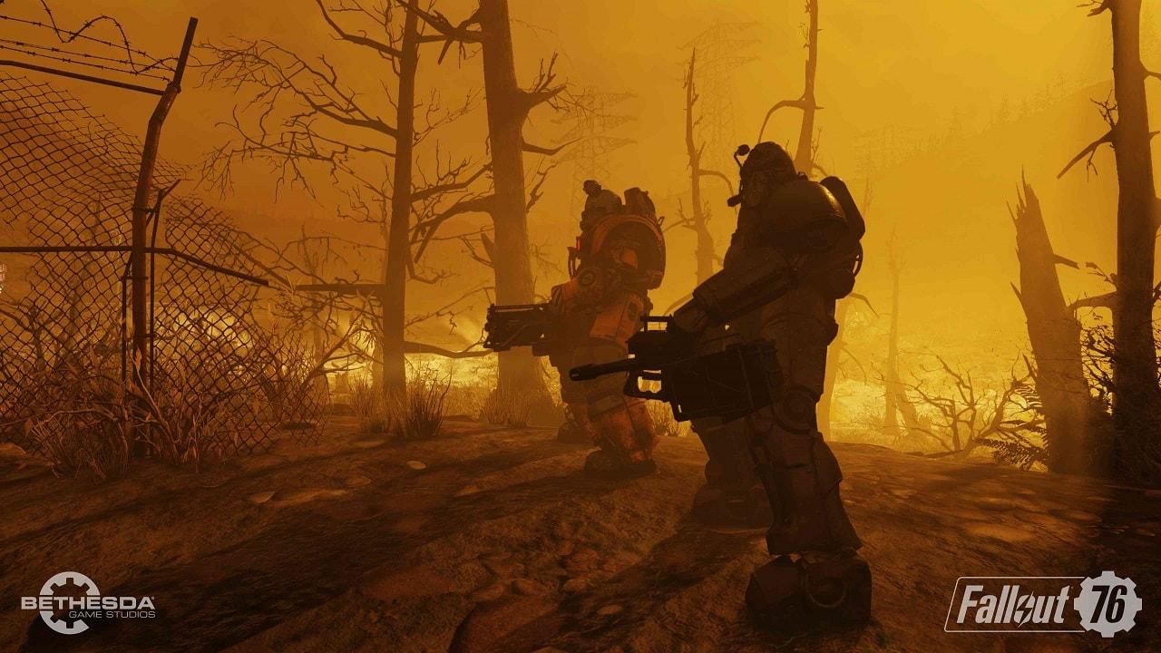 Fallout 76, screenshot, Engine