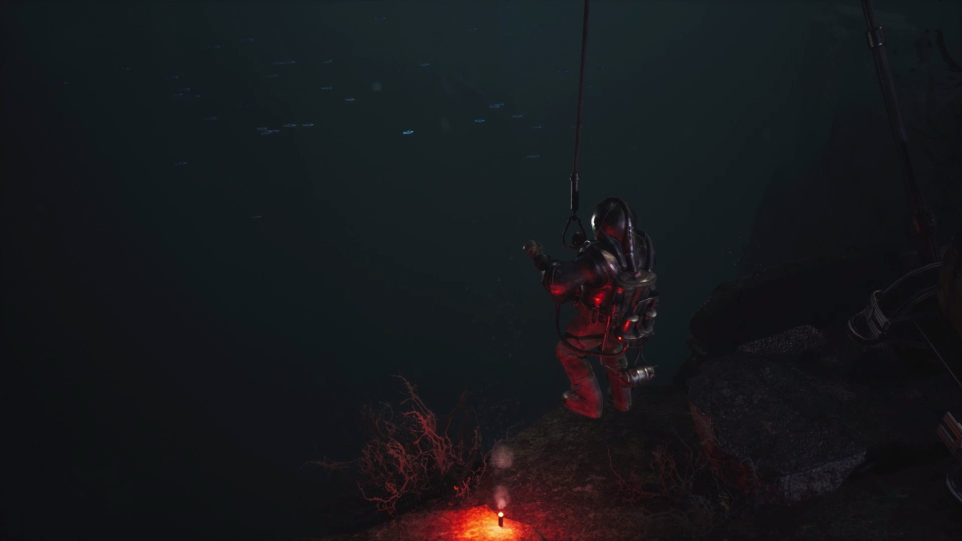 The Sinking City; gameplay: potápěč
