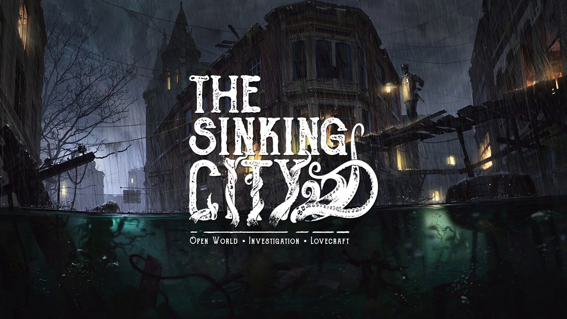 The Sinking City; wallpaper: uvod