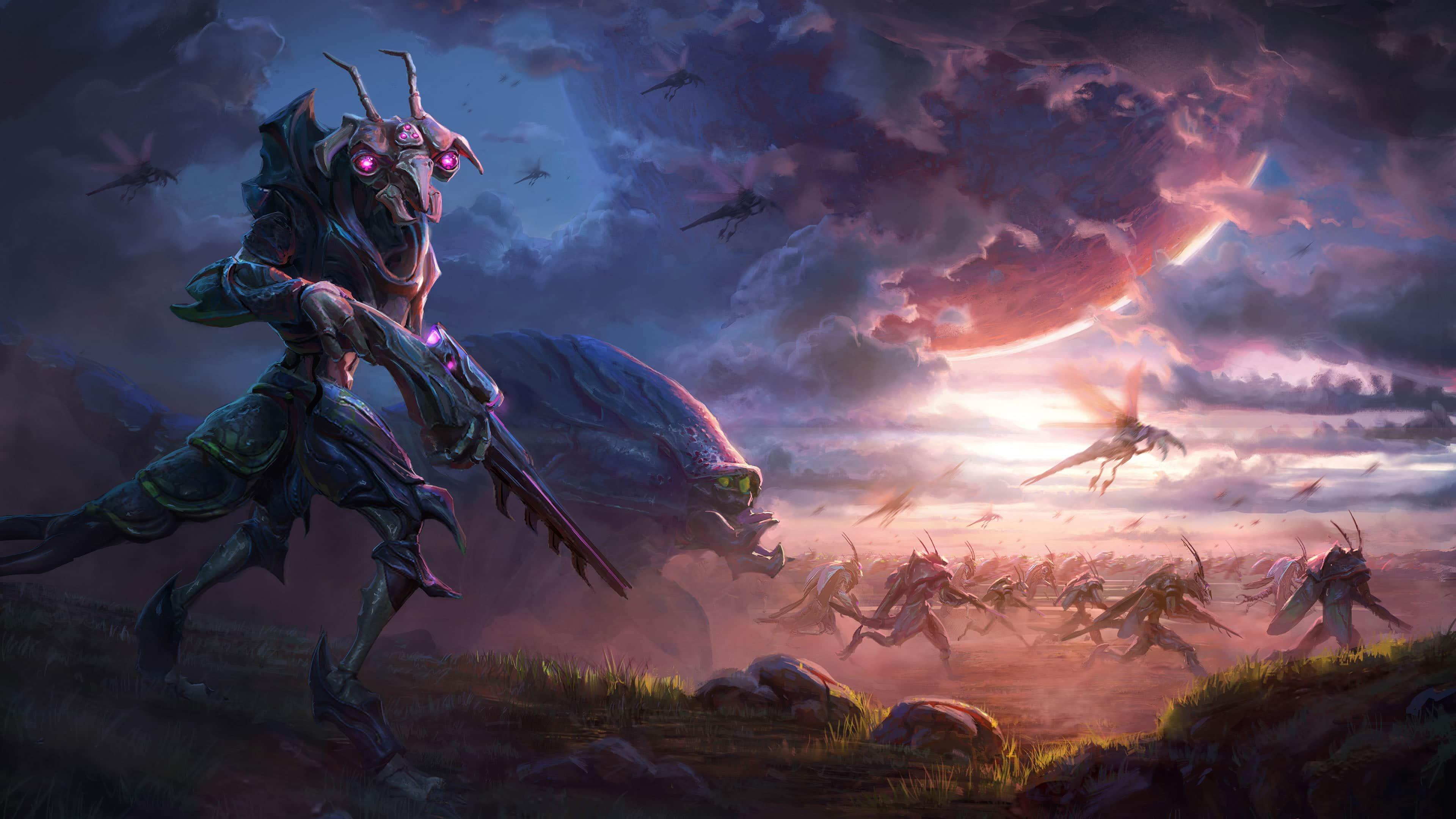 Age of Wonders: Planetfall; wallpaper: hmyz