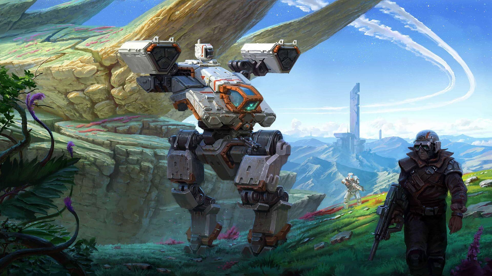 Age of Wonders: Planetfall; wallpaper: úvod