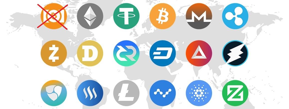 Kryptoměny, Alza, logo, proč potřebujeme kryptoměny