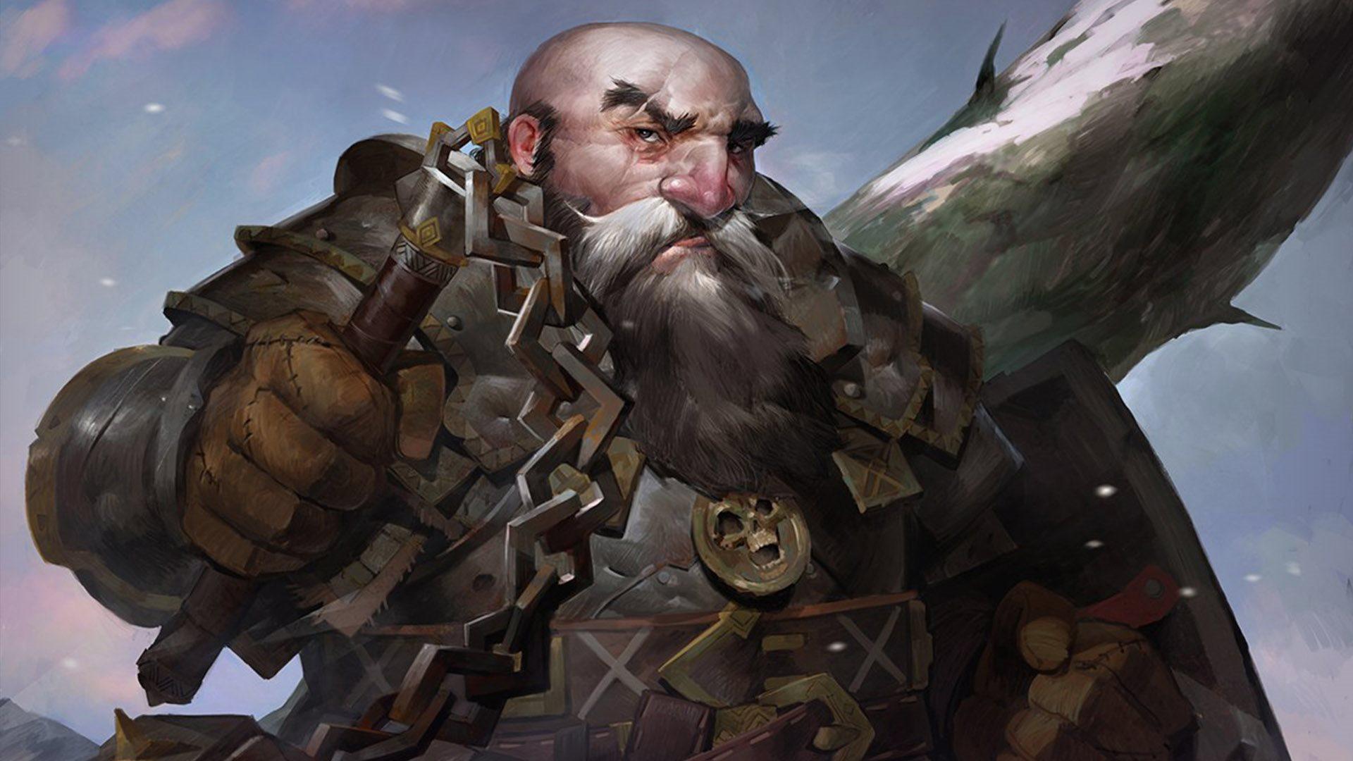 Pathfinder: Kingmaker; artwork: trpaslík