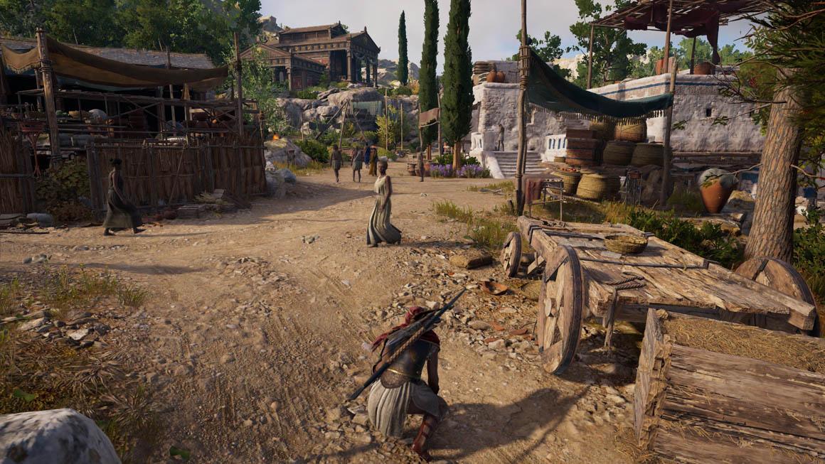 Assassin's Creed Odyssey - Detaily prostředí