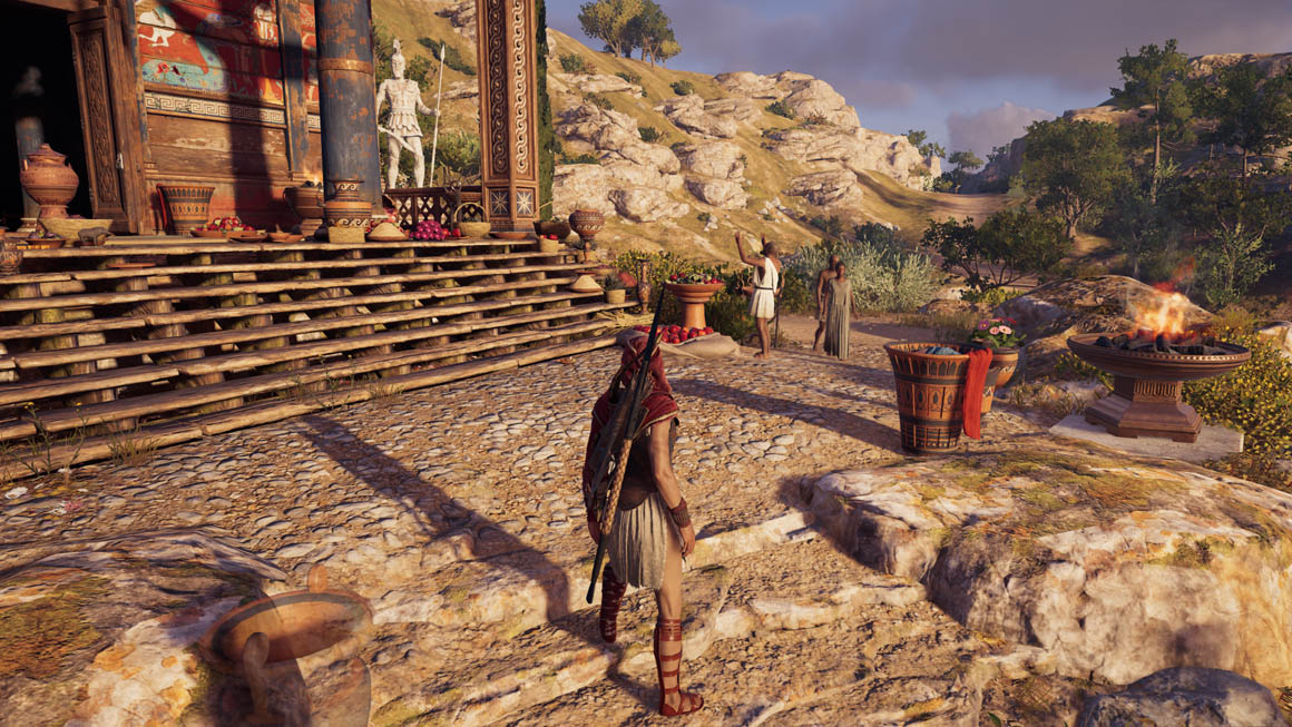 Assassin's Creed Odyssey - Detaily Textur