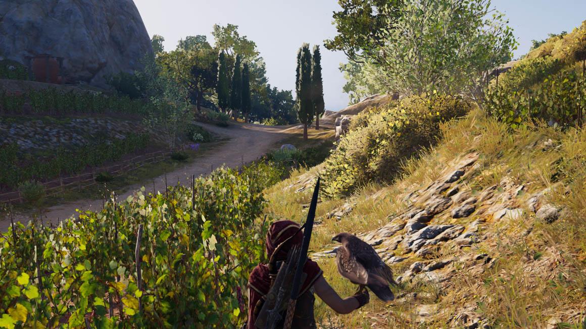 Assassin's Creed Odyssey - kvalita obrazu NVIDIA