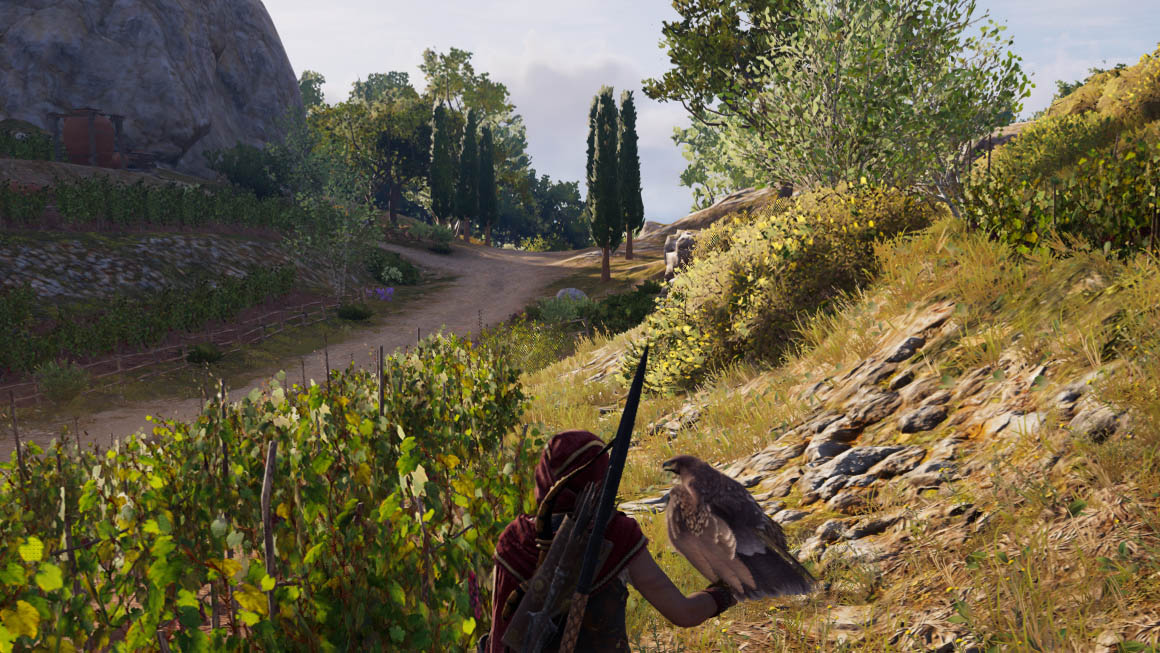 Assassin's Creed Odyssey - kvalita obrazu AMD