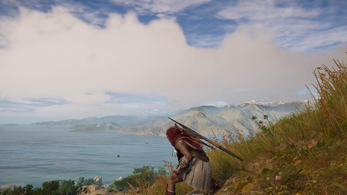Assassin's Creed Odyssey - Volumetrické mraky