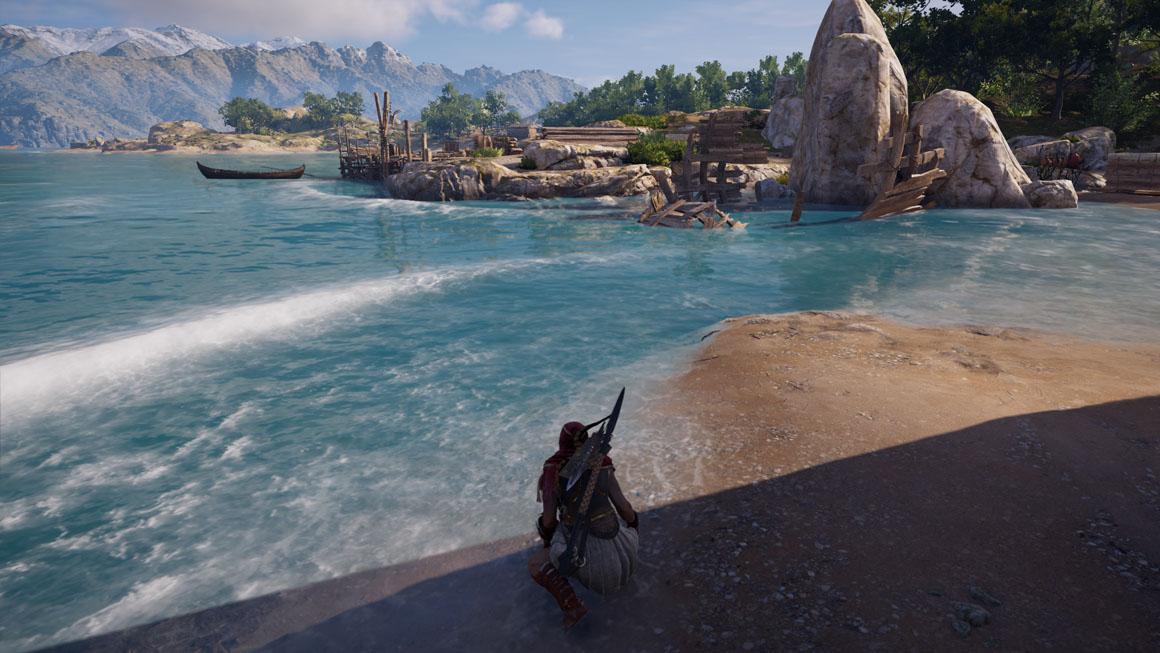Assassin's Creed Odyssey - Voda