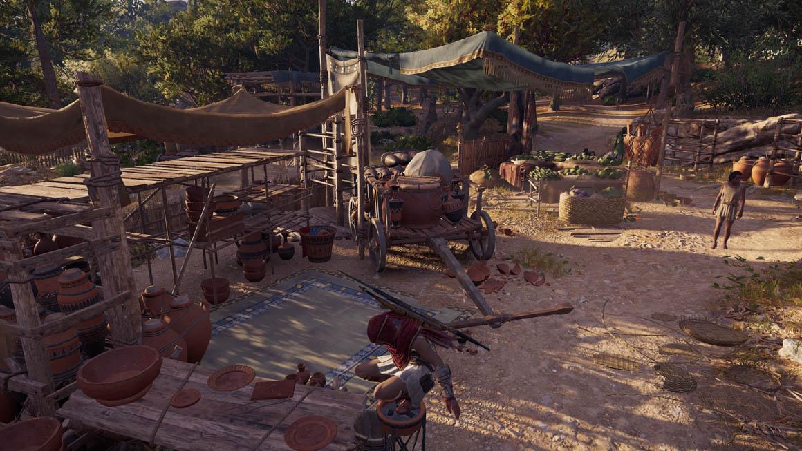 Assassin's Creed Odyssey - Zastínění okolím