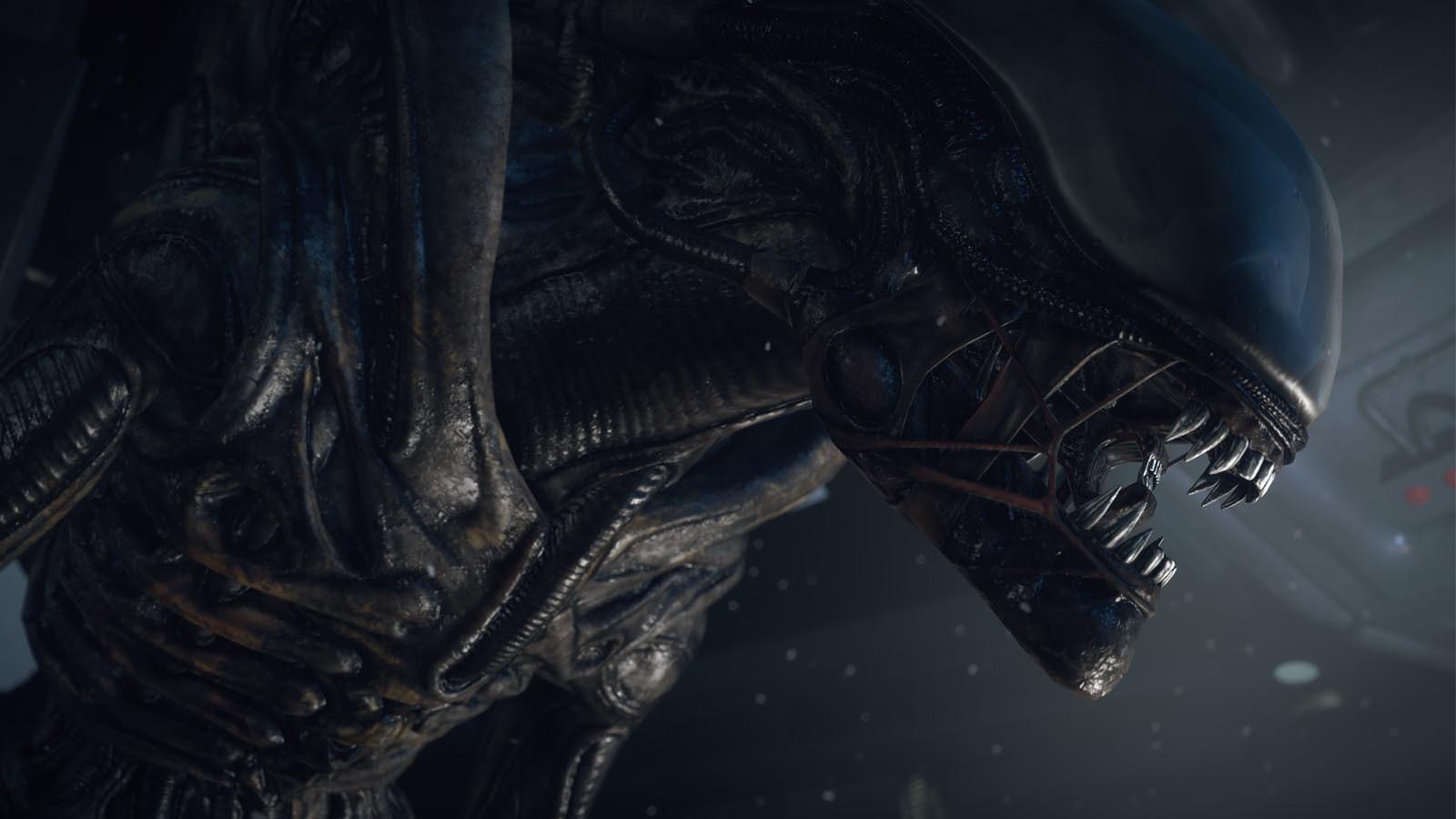Alien blackout, wallpaper, screenshot