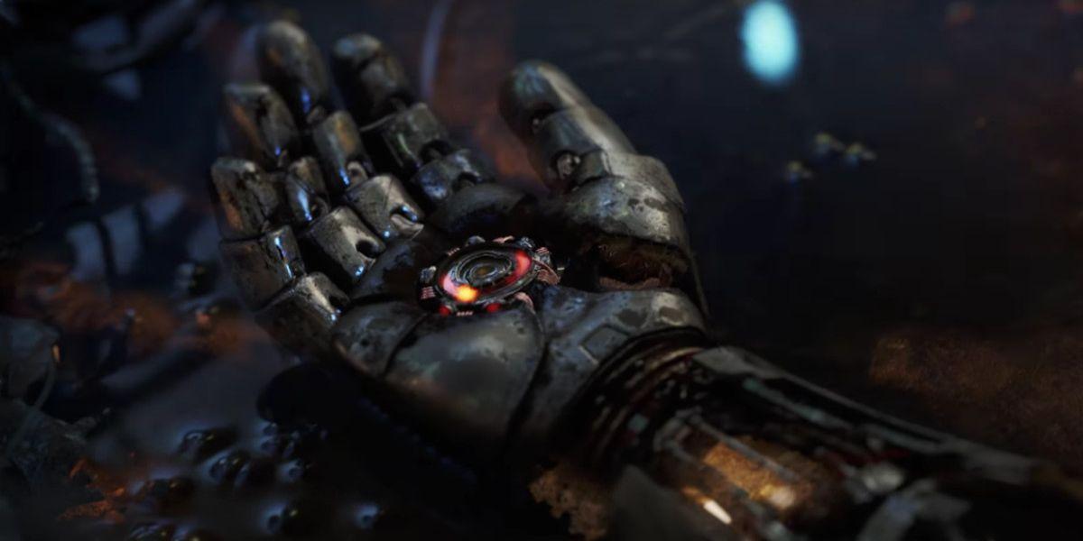 avengers, screenshot,  iron man, glove, armor