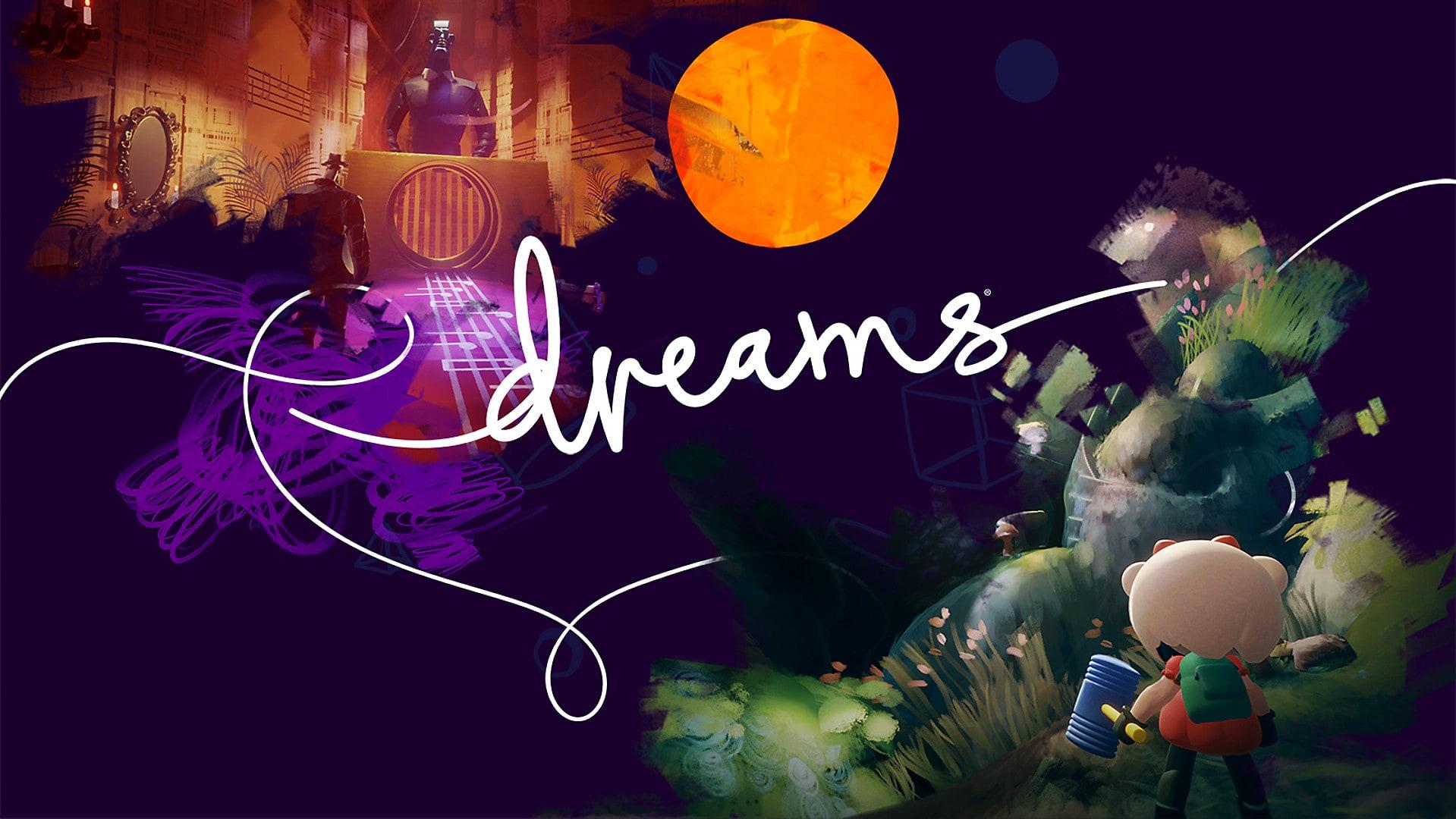 Dreams, screenshot, cover