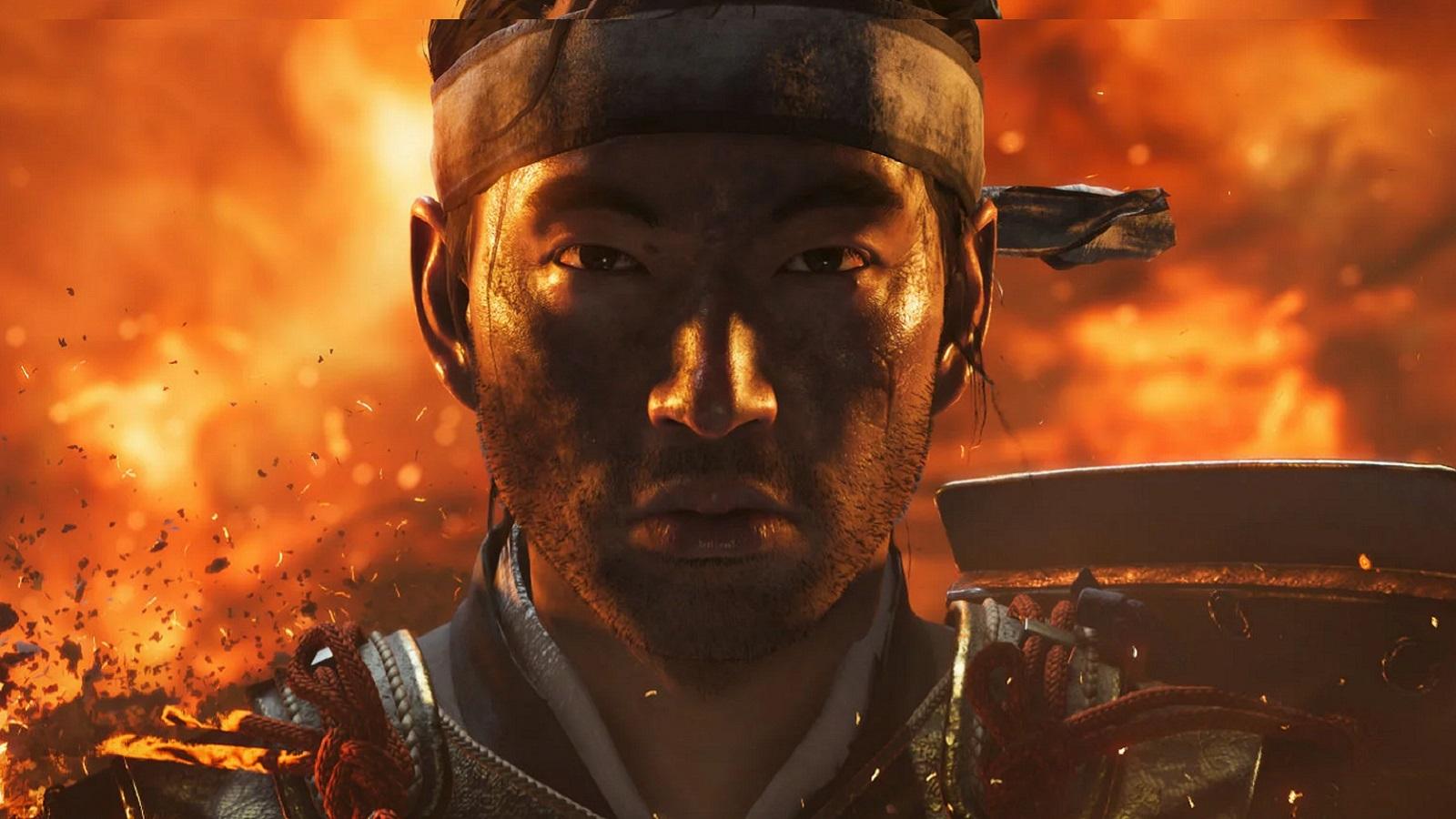 Ghost of Tsushima, screenshot: Samuraj