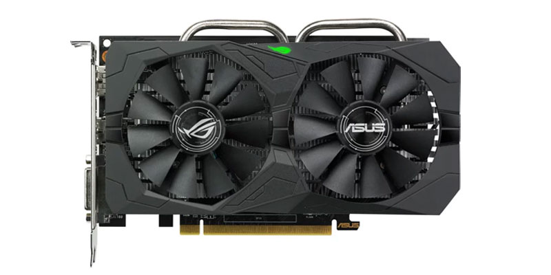 Asus Strix RX 560 4G EVO Gaming v testech