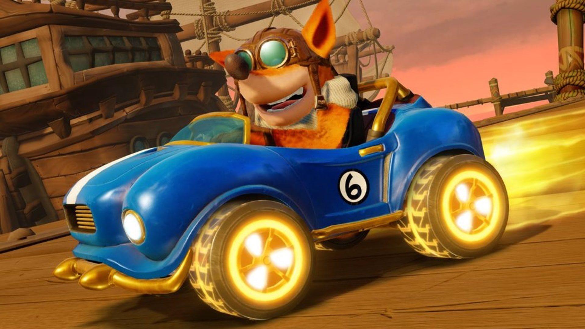 Crash Team Racing Nitro-Fueled; screenshot: crash