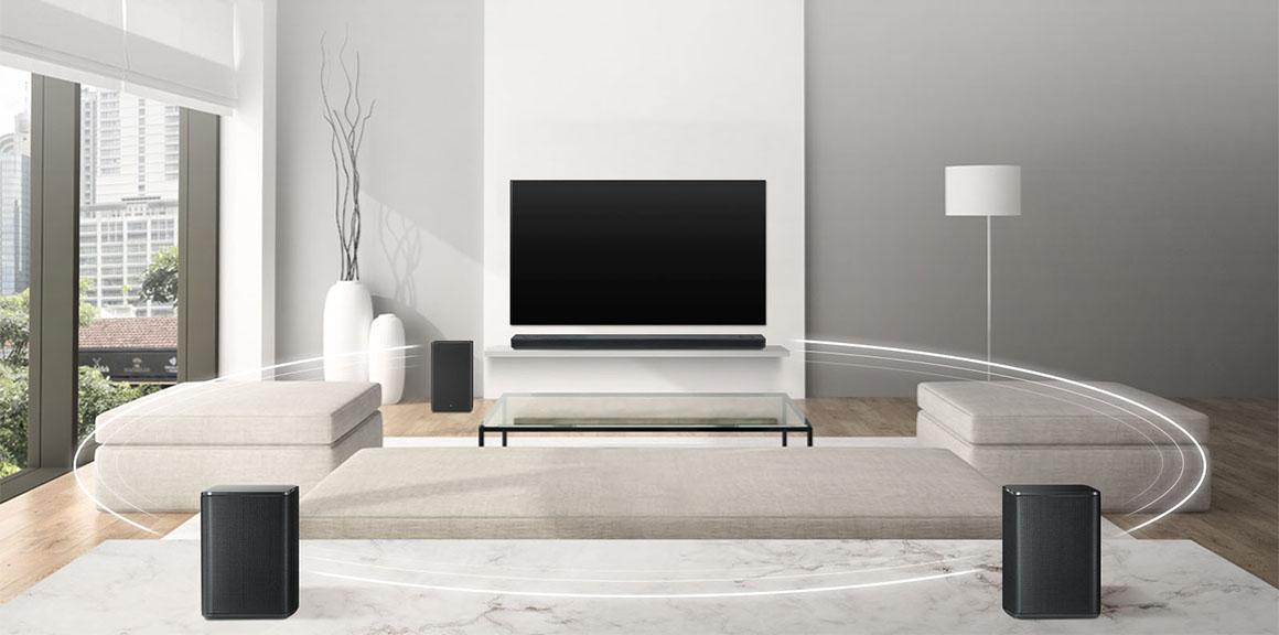 Soundbary LG, obývák