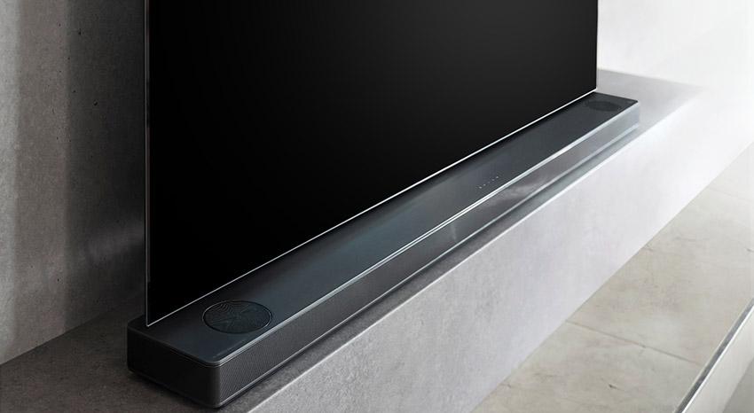 Soundbary LG, design
