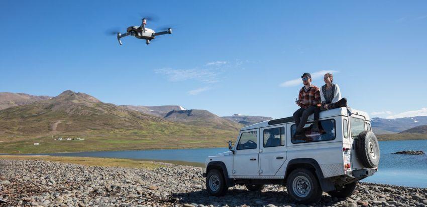 Focení a natáčení dronem