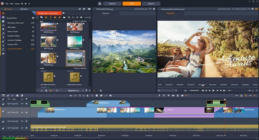 Postprodukce videa z dronu
