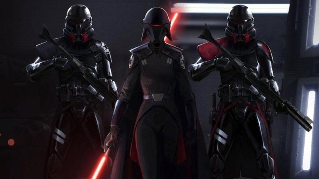 Star Wars Jedi: Fallen Order; wallpaper: inquisitor