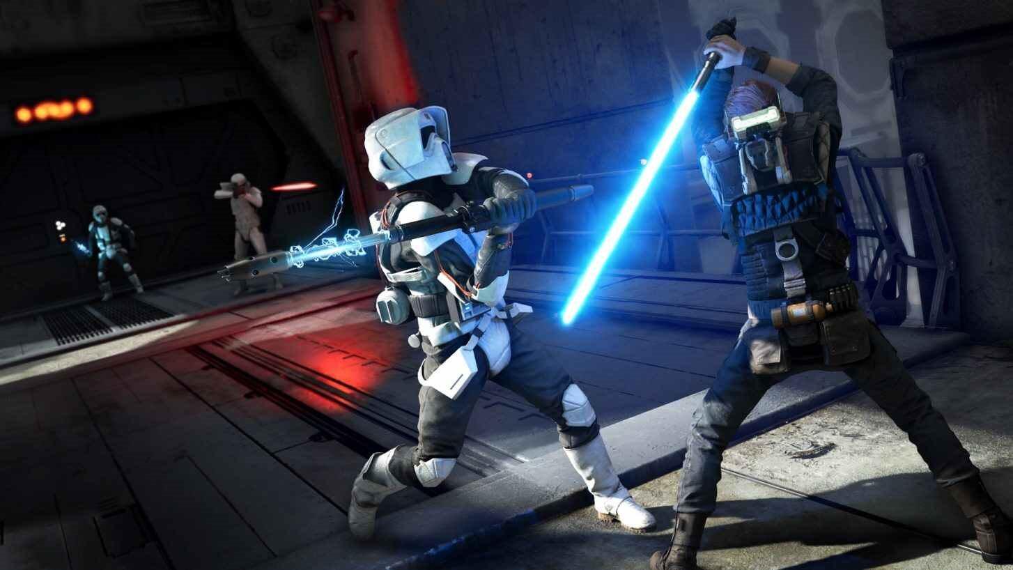 Star Wars Jedi: Fallen Order; screenshot: lightsaber