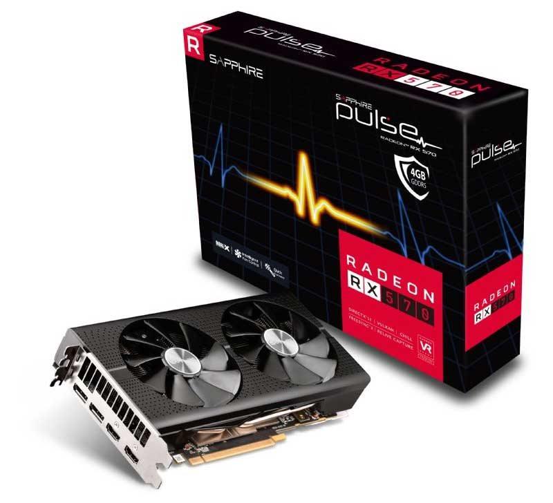 Sapphire Pulse Radeon RX 570 4GD5