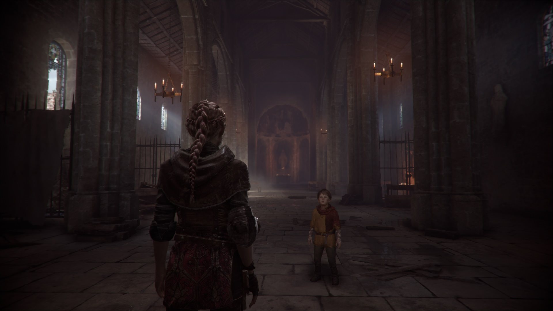 A Plague tale: Innocence; gameplay: architektura