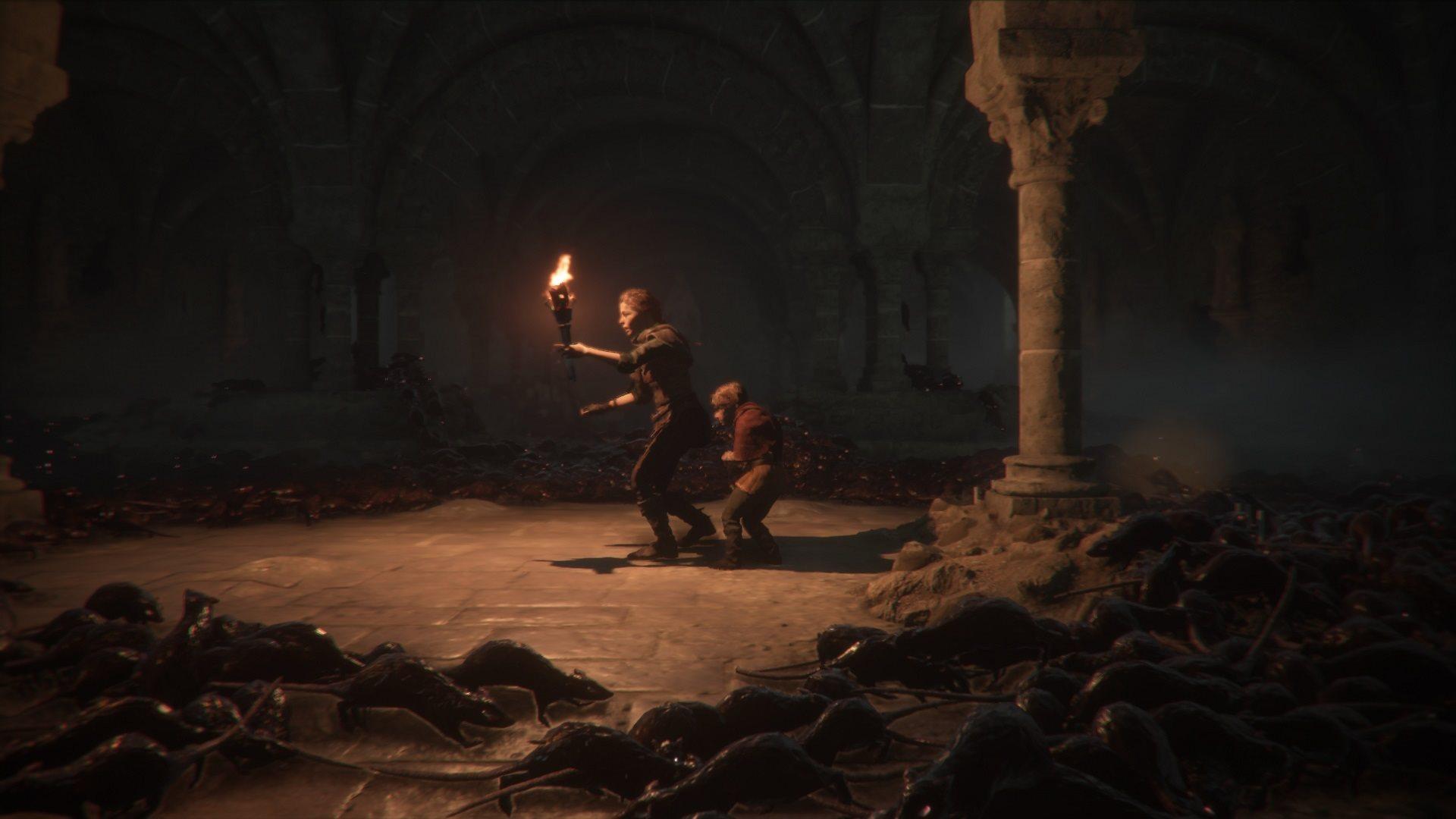 A Plague tale: Innocence; gameplay: krysy
