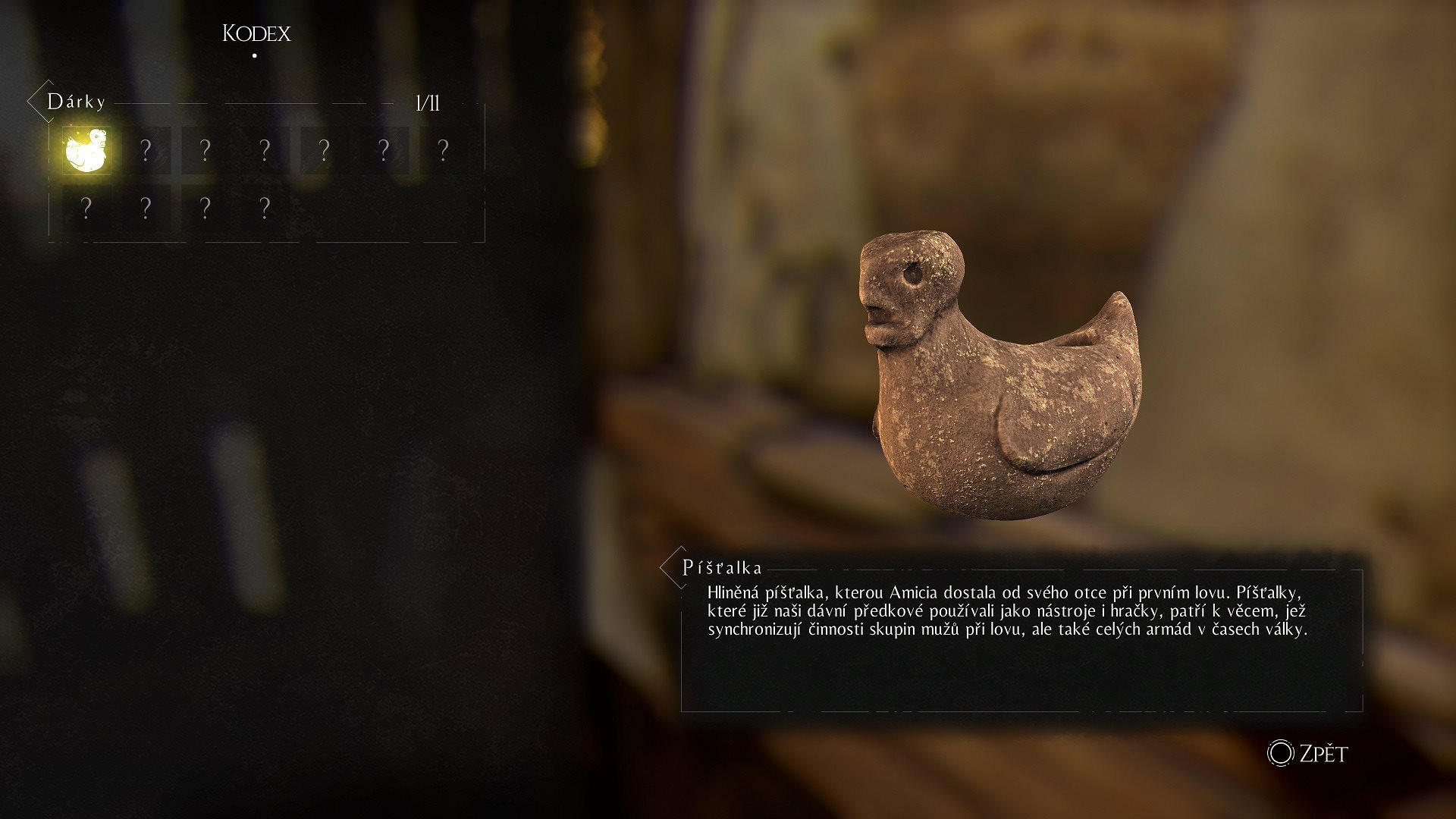 A Plague tale: Innocence; screenshot: predmety