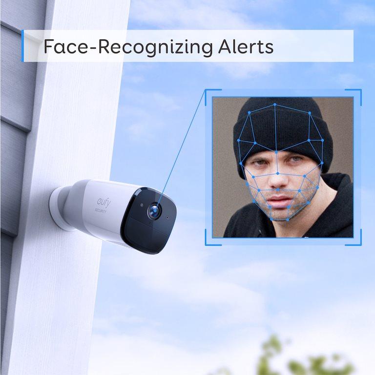 Eufy Security, bezpečnostní kamera, aplikace