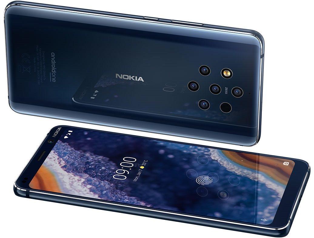 Nokia 9 PureView je telefon ze skla, hrany jsou z hliníku
