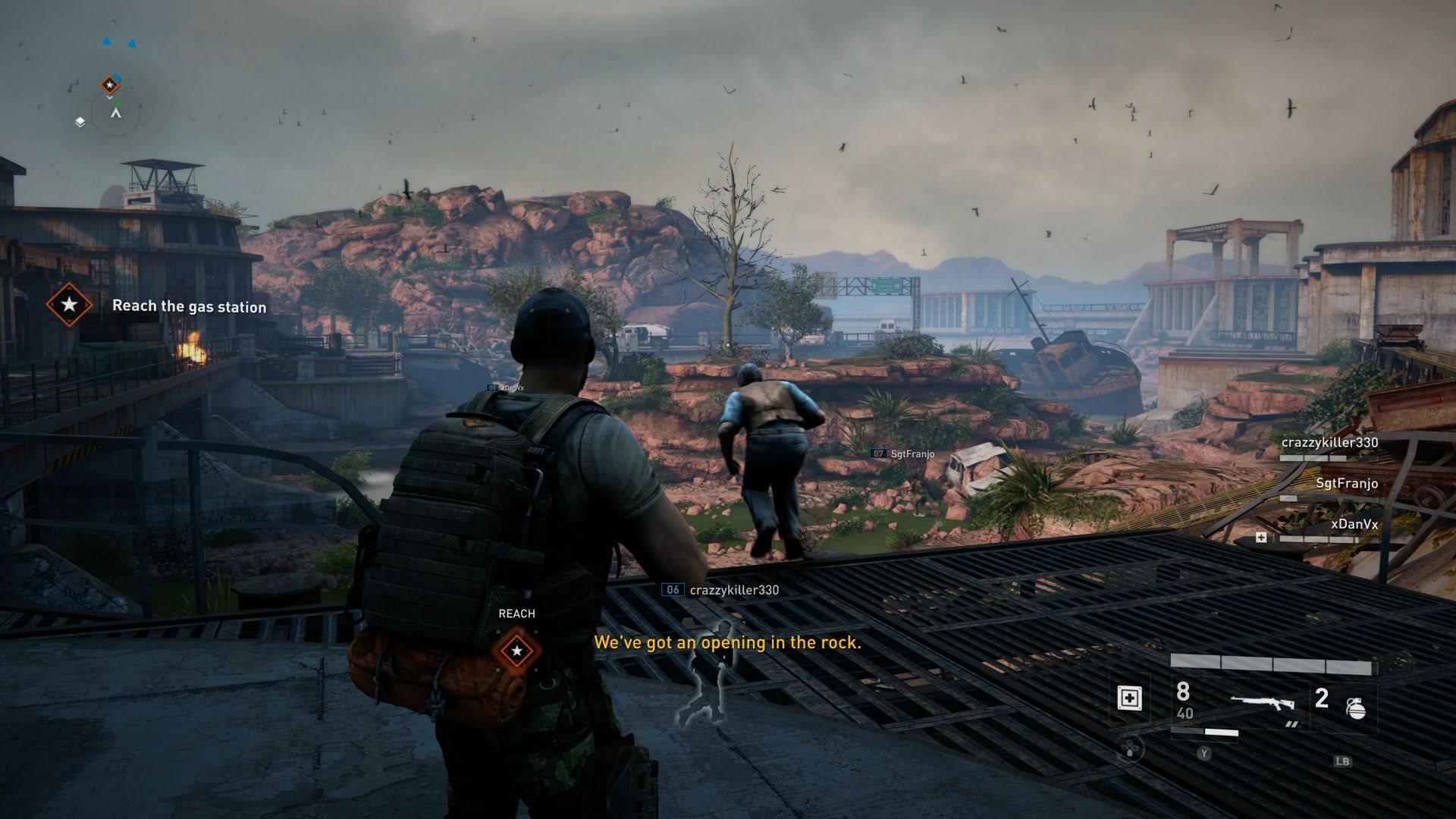 World War Z; gameplay: krajina
