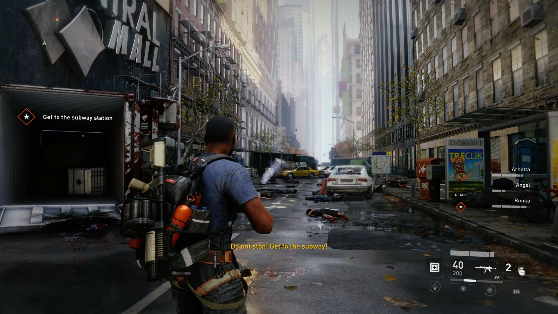 World War Z; screenshot: New york