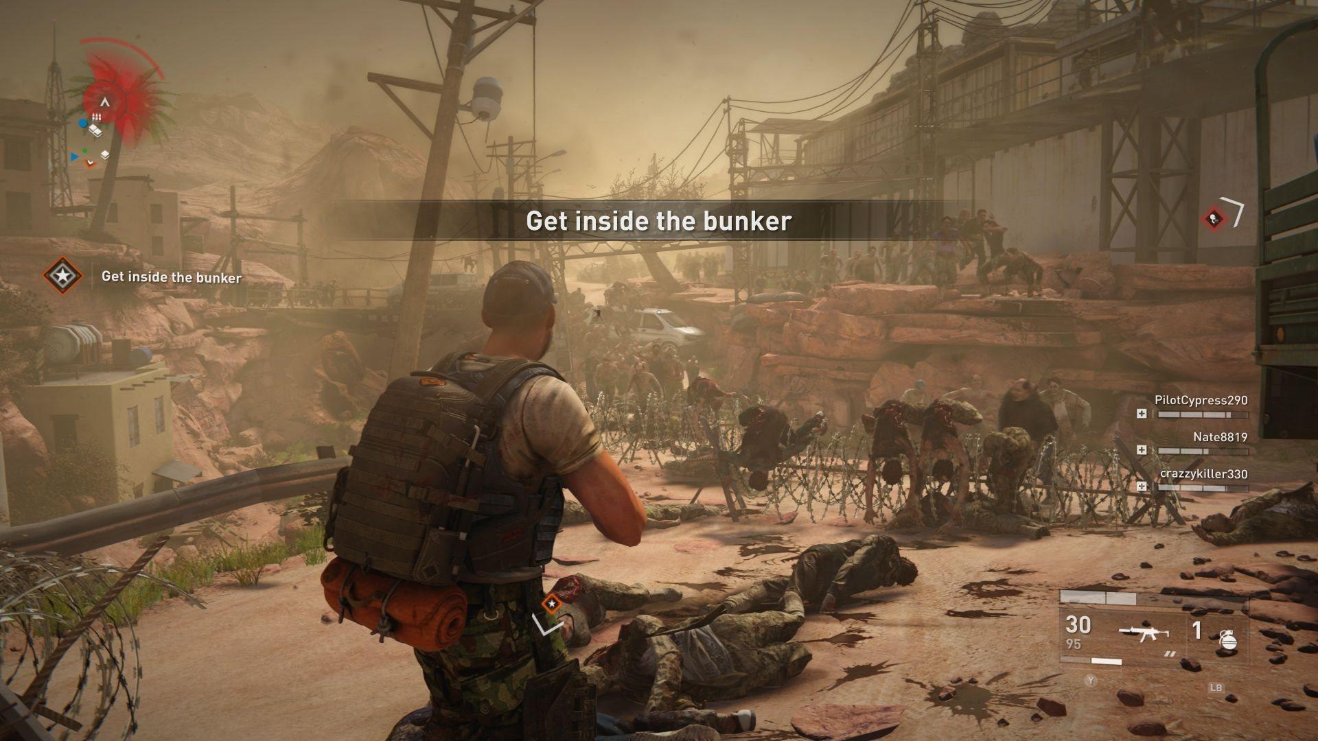 World War Z; screenshot: ostnatý drát