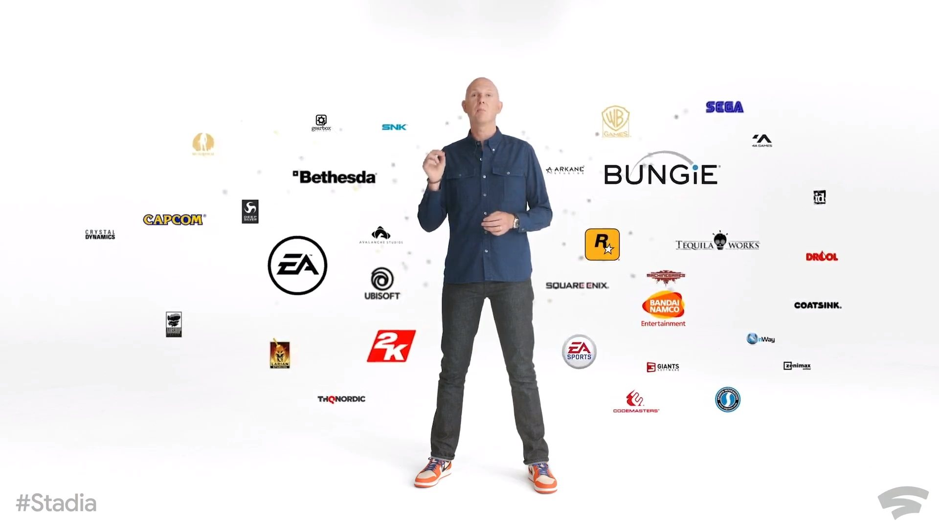 Google Stadia; screenshot: games