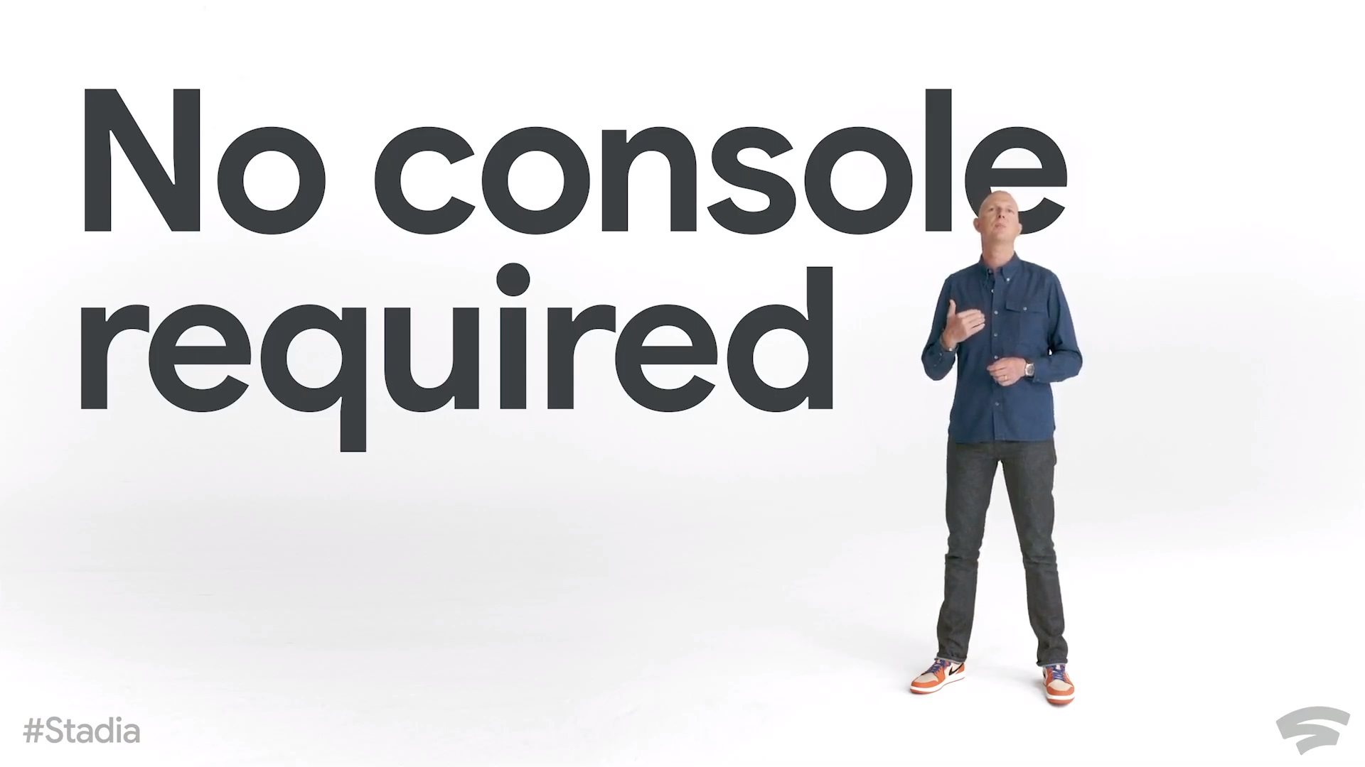 Google Stadia; foto: no console