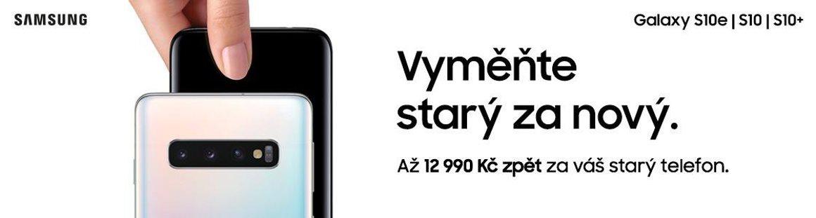 ae90348b9 ... nového Galaxy S10, S10e a S10+ získat zpět až 12 990 Kč. Akce platí do  19. dubna 2019 a zařízení může být od kteréhokoli výrobce.