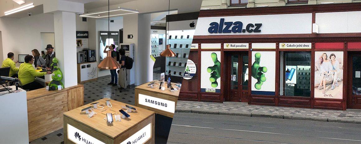Alza showroom Anděl