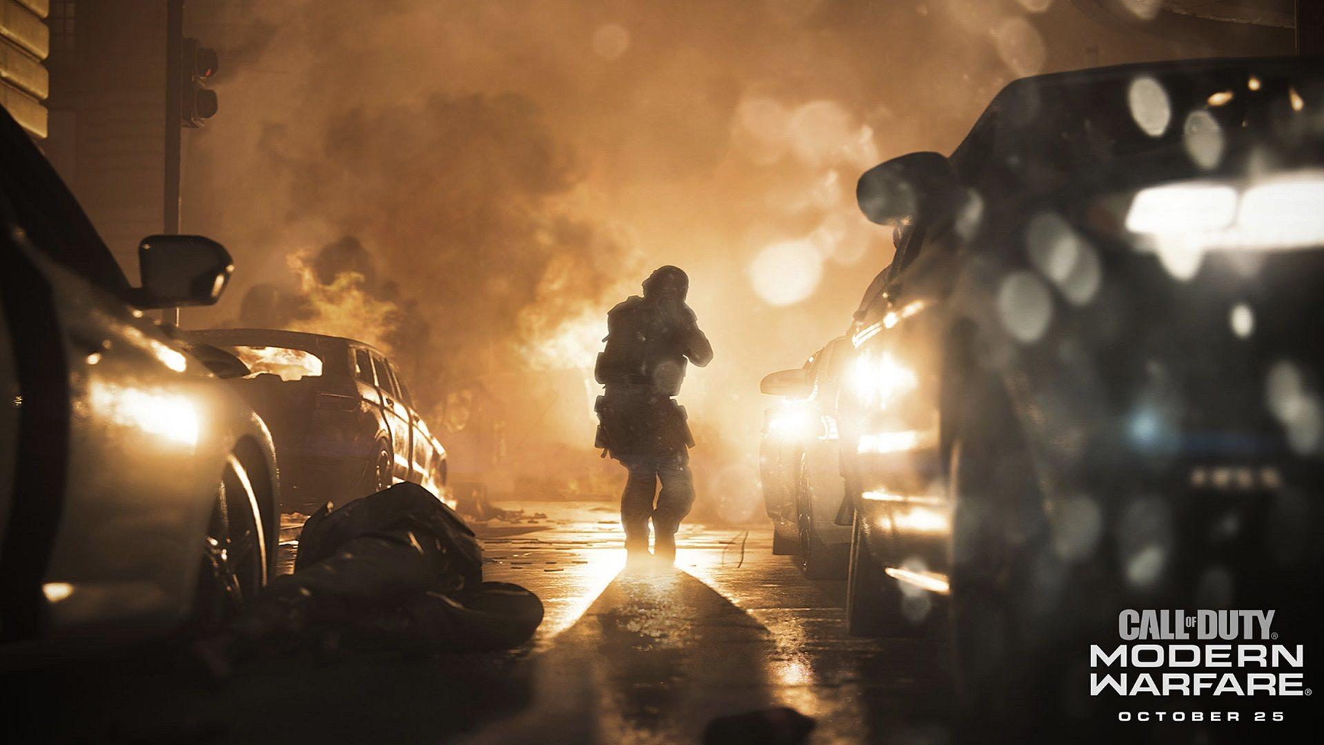 Call of Duty: Modern Warfare; screenshot: oznámení
