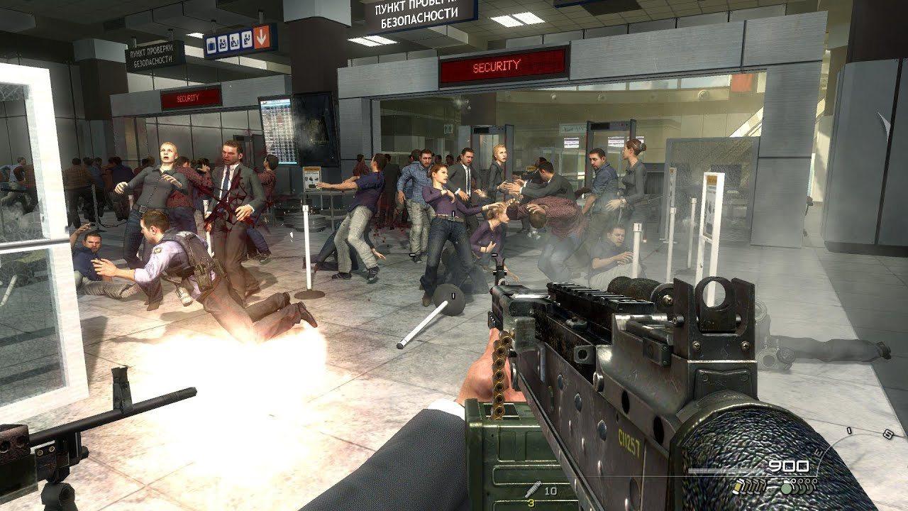 Call of Duty: Modern Warfare 2; screenshot: no russian