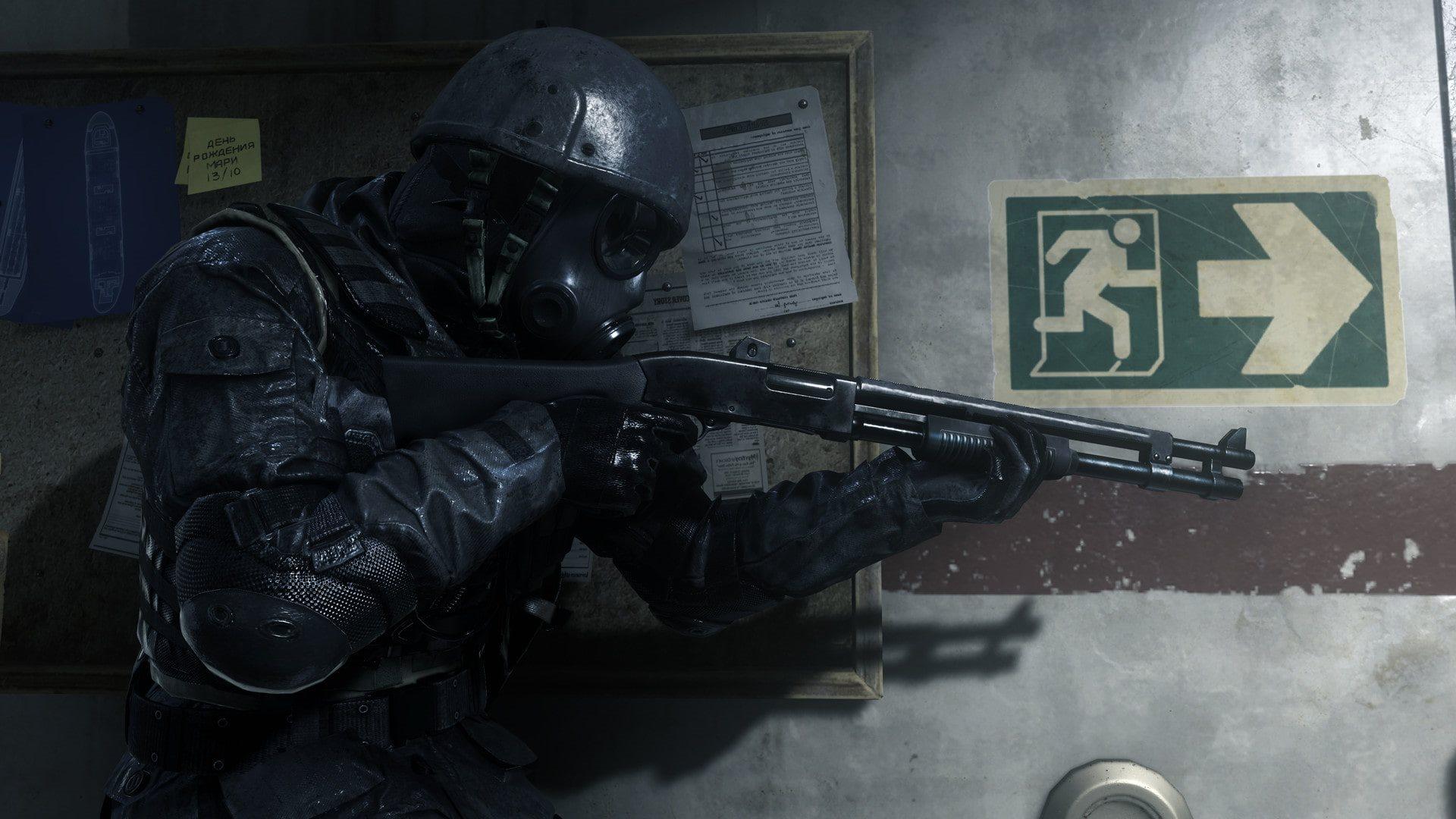 Call of Duty: Modern Warfare Remastered; screenshot: soldier