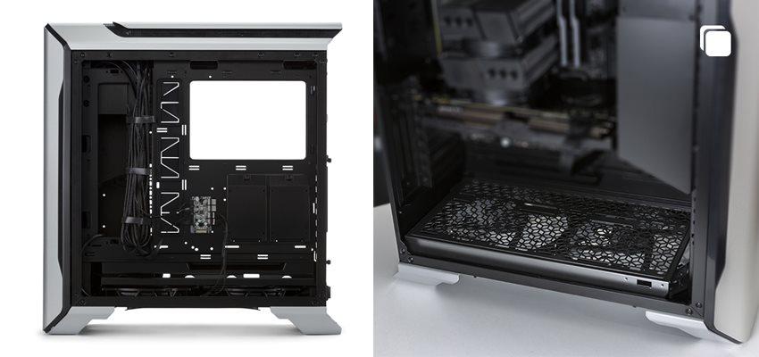 Cooler Master MasterCase SL600M; PC skříň; obsah balenia