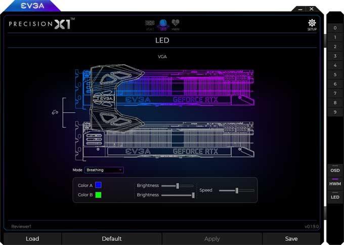 EVGA RTX 2070 XC Gaming Gaming Precision X1 2