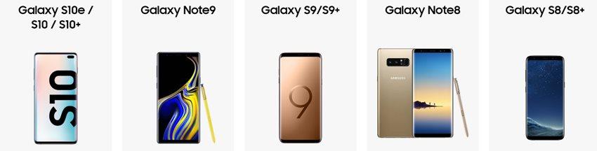 Moje Galaxy - Telefony