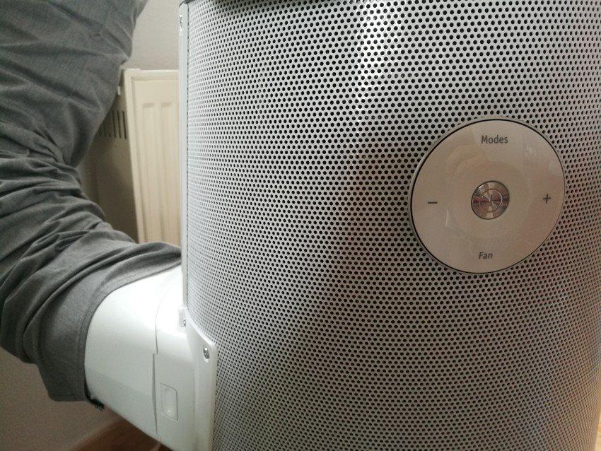 Připojení a ovládání mobilní klimatizace Electrolux WP71-265W