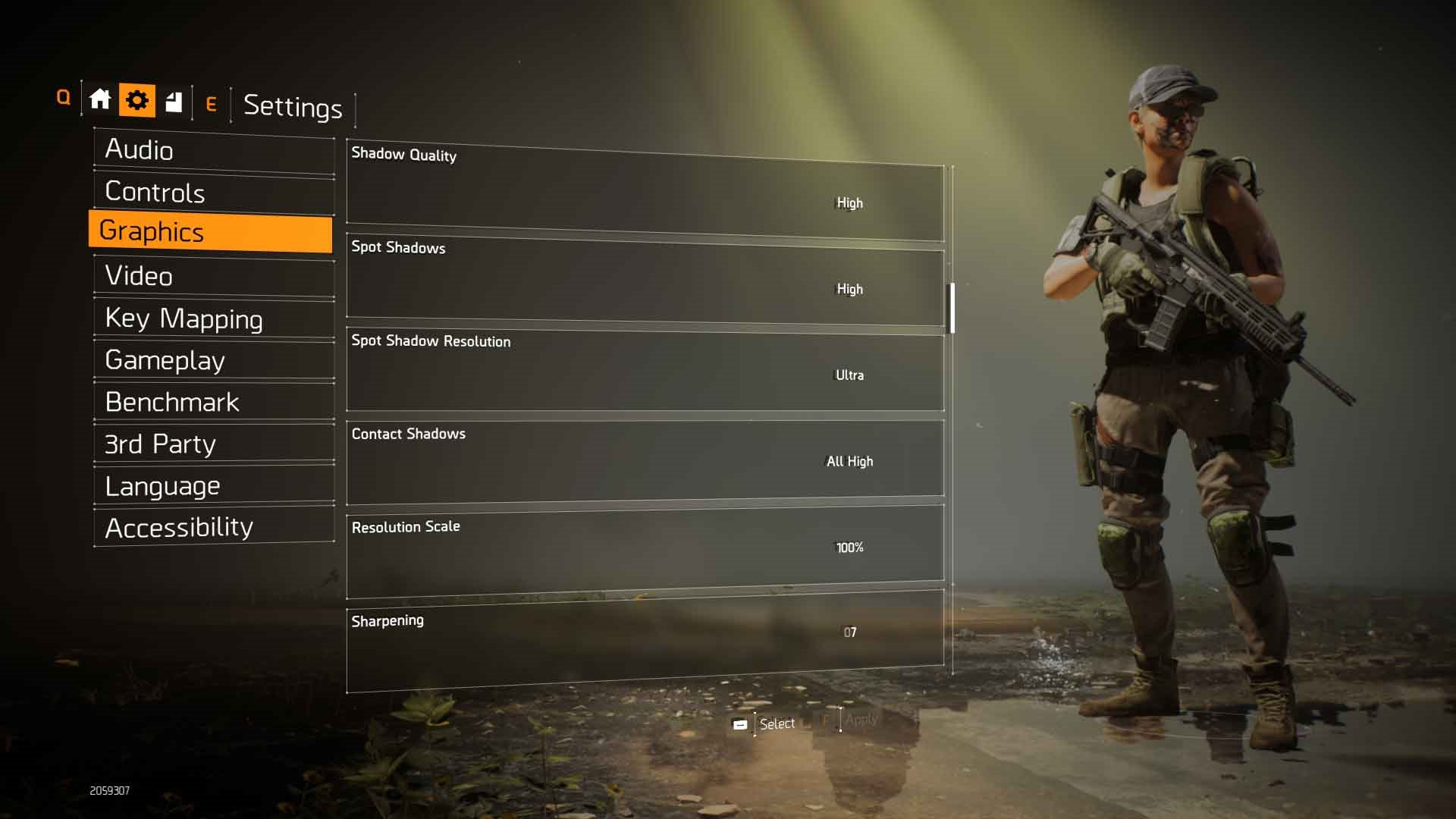 Tom Clancy's: The Division 2 nastavení grafika 2